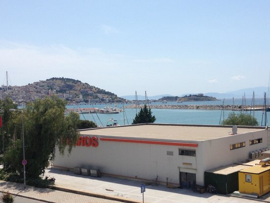 DoubleTree by Hilton Hotel Kusadasi: View from our terrace in the marina suite.
