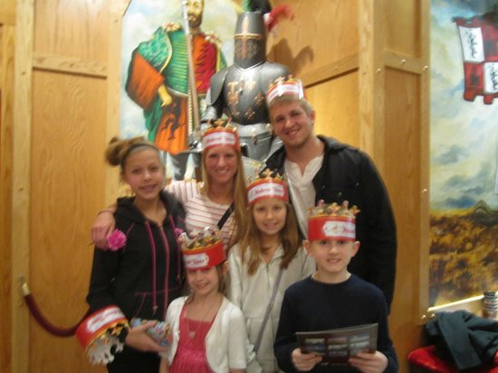Medieval Times with my grandchildren