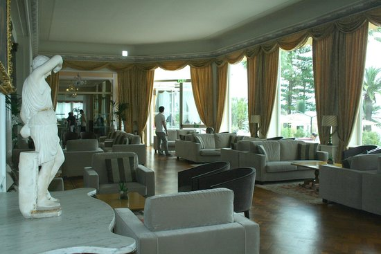 Royal Hotel Sanremo : The Royal Hotel lounge