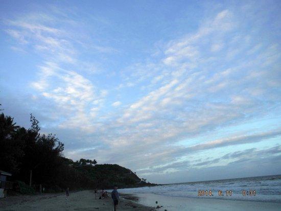 Four Mile Beach : sunset at the beach