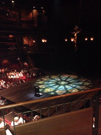 The Royal Shakespeare Theatre: The stage before it begins