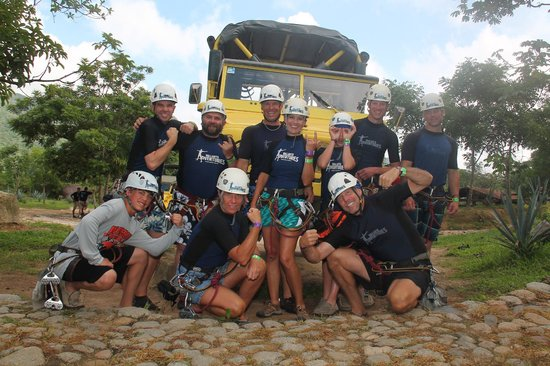 Outdoor Adventure by Vallarta Adventures: Getting pumped for the day