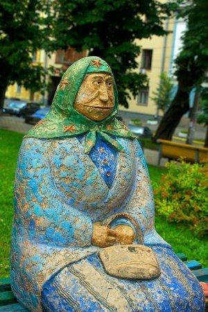 Babushka Classical Sculpture