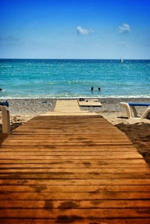 TUI BLUE Palm Garden : Beach walk