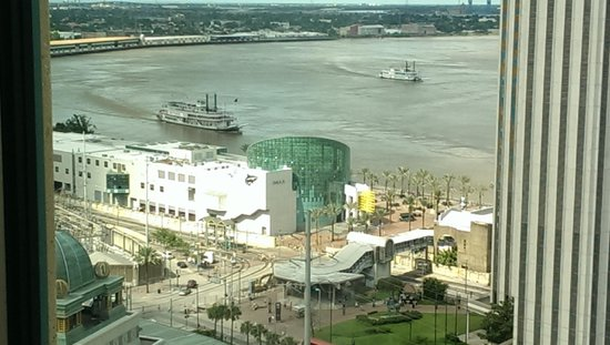Harrah's New Orleans: Another view from our room