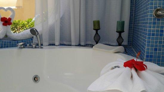 VIK Suite Hotel Risco del Gato : Bañera hidromasaje