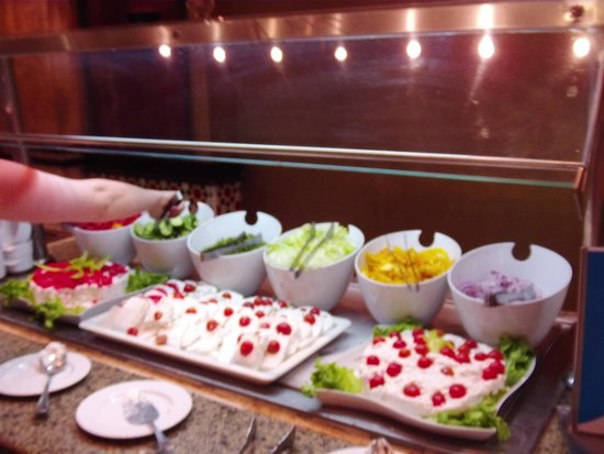 SENTIDO Mamlouk Palace Resort : buffet