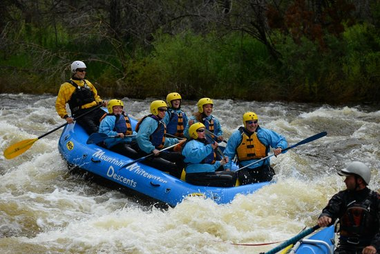Mountain Whitewater Descents: Our river trip!