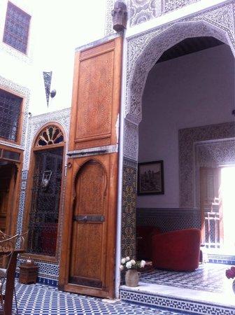 Riad La Cle de Fes: Living room