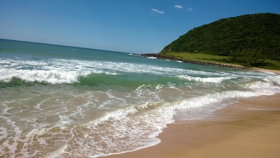 Silveira Beach: Água límpida!