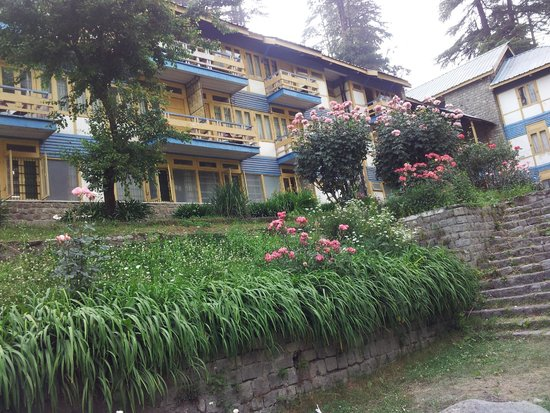 Hotel Beas (HPTDC) : Hotel backside showing balconies