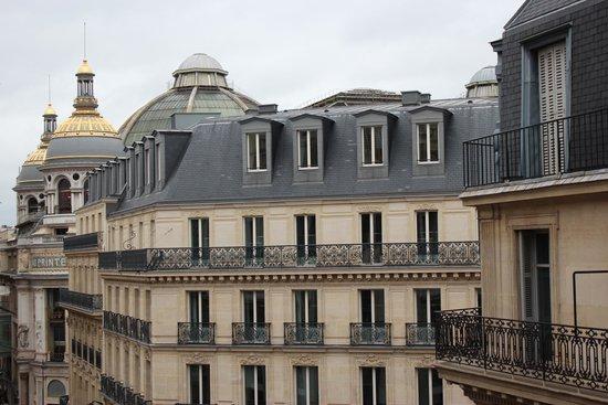Adagio Paris Opera: Vista da sacada