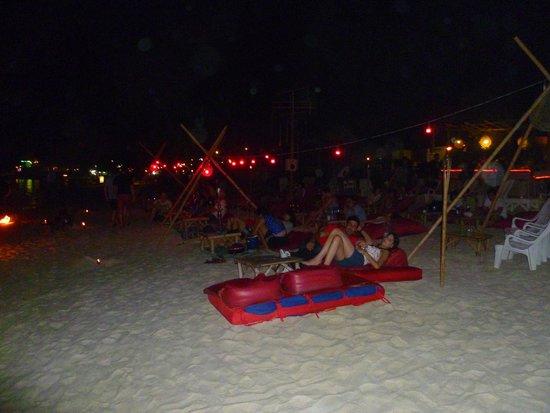 Ark Bar Beach Club : al margine estremo di ark club una relativa tranquillità