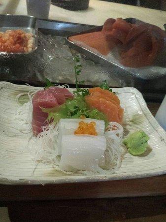 Seryna Japanese Restaurant : 3 Kinds Sashimi