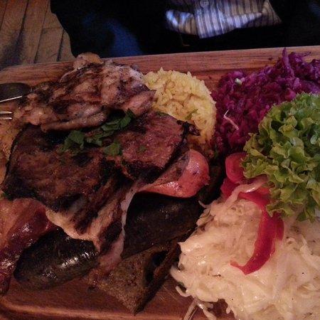 U Szwejka: Mixed grill