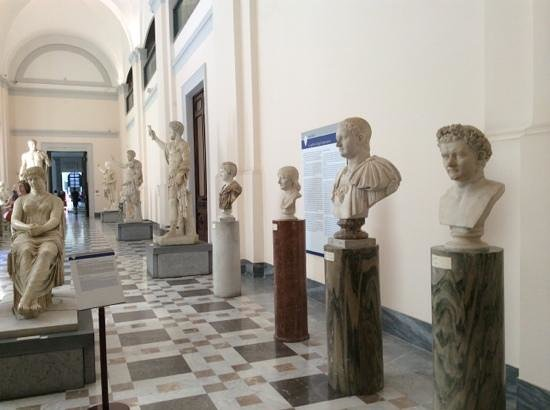 National Archaeological Museum of Naples: Busts and statues