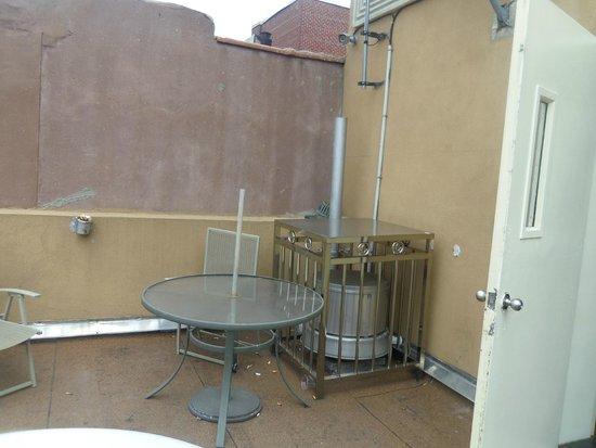 Comfort Inn Lower East Side: terrasse au 7è étage