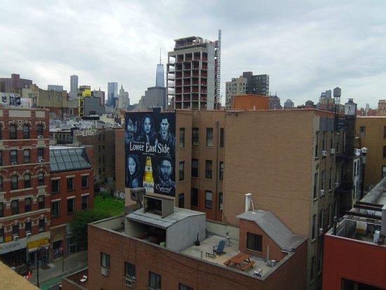 Comfort Inn Lower East Side: toujours la terrasse