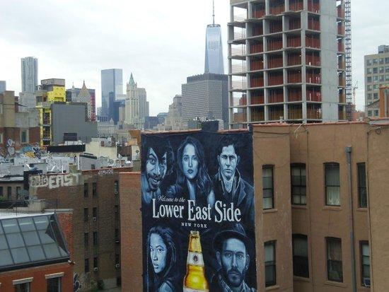 Comfort Inn Lower East Side: la terrasse du comfort inn