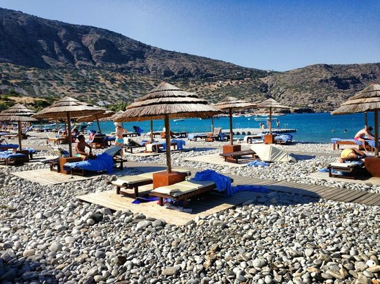 Blue Palace, a Luxury Collection Resort & Spa, Crete: the beach
