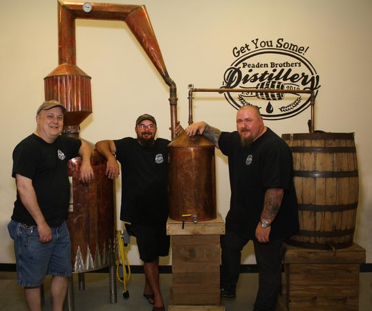 Peaden Brothers Distillery: Here are the owners