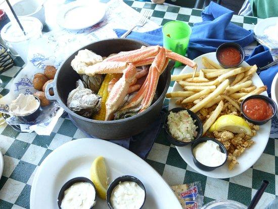 The Crazy Crab Jarvis Creek: yummy stuff!