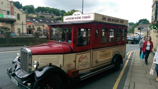 Old Bridge Inn: Last of the Summer wine touring bus