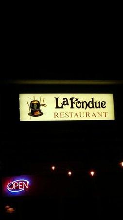 La Fondue Restaurant