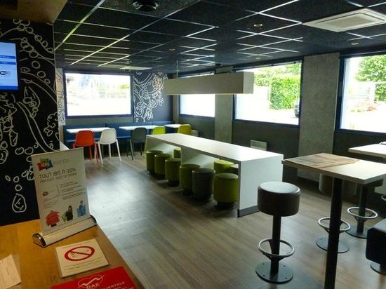 Ibis Budget Chateauroux Déols : Dining / Breakfast Area