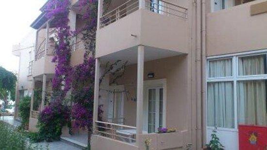 Taverna Paradise Studios & Apartments: Küchennische