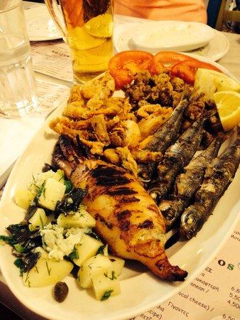 Afros : Misto di pesce