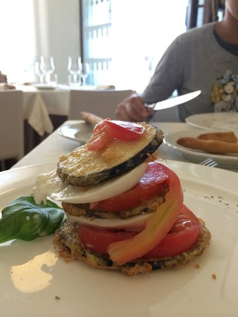 Osteria Del Gallo e Della Volpe: Parmigiana estiva