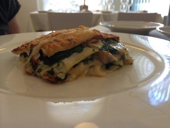 Osteria Del Gallo e Della Volpe: Lasagna di verdure