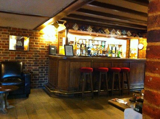The Harrow Inn: The bar