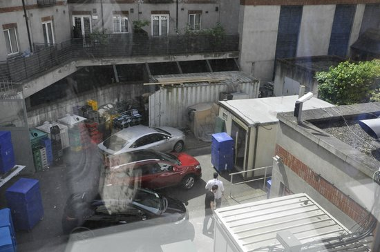 Jurys Inn Dublin Christchurch: not great view