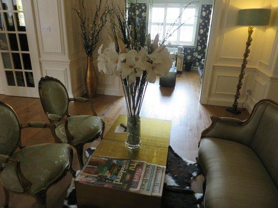 Brucefield Boutique B & B: Beautiful sitting room