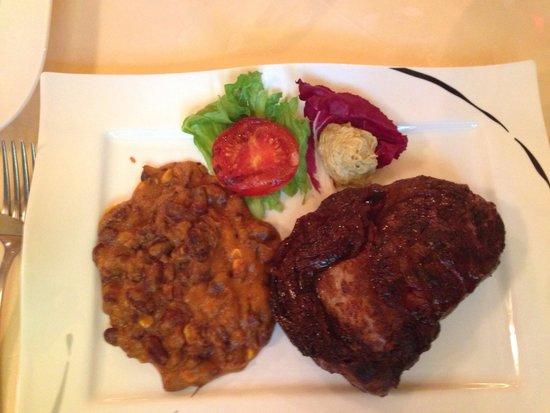 Steakhouse: Ripeyesteak... :-). 400 gr