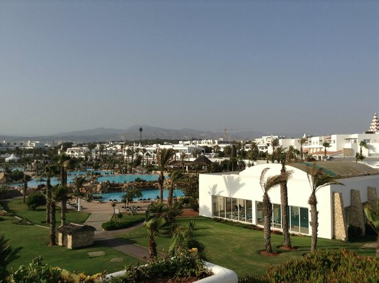 ClubHotel Riu Tikida Dunas : View from block 5