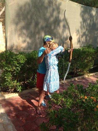 Hotel Diar Lemdina : Archery.