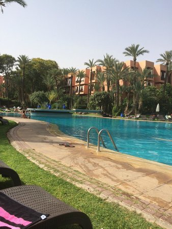 Hotel Marrakech le Semiramis: Piscine