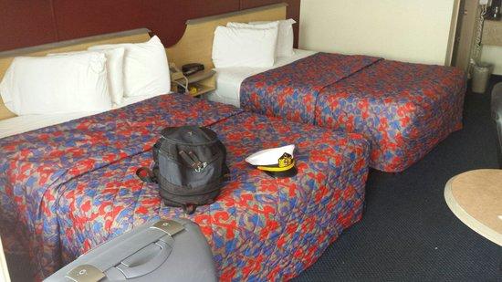 Red Roof Inn San Antonio - Lackland: Room 208