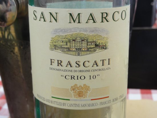 House wine @ Mercato Hostaria
