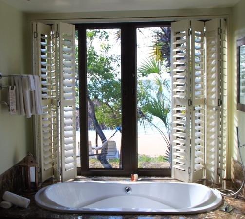 Anantara Bazaruto Island Resort: ванна с видом на океан