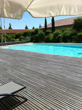Domaine de Brandois : La piscine