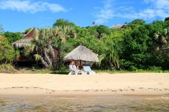 Anantara Bazaruto Island Resort: приватный пляж