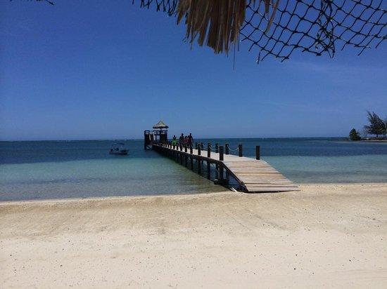 Roatan Christopher Tours: New Palm Beach is beautiful!
