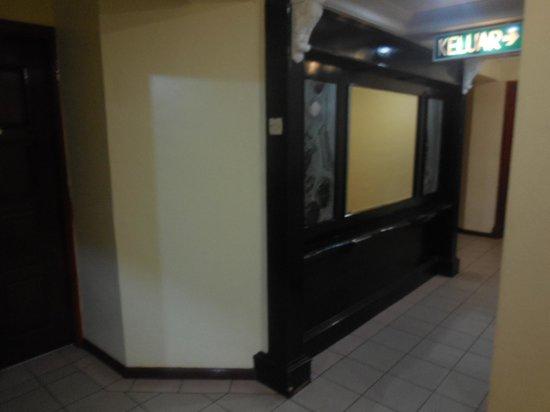 Mabul Inn : Couloir au premier étage