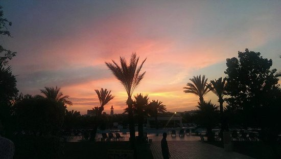Saphir Palace & Spa: sunset