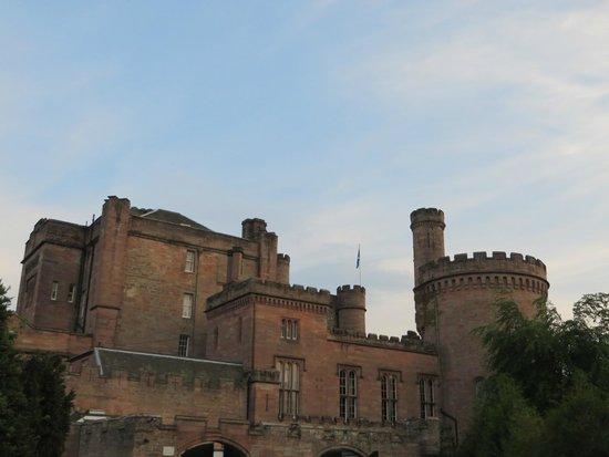 Dalhousie Castle: Castle sky