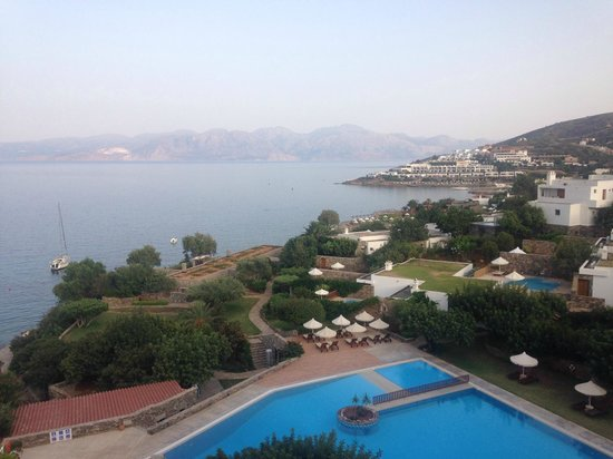 Elounda Mare Relais & Chateaux hotel: Very nice view from our room